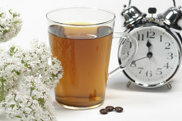 Kozlík lékařský, čaj