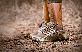 Vyrobte si odkládací plochu na zablácené boty