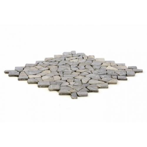 Divero 622 Mramorová mozaika šedá 1 m²