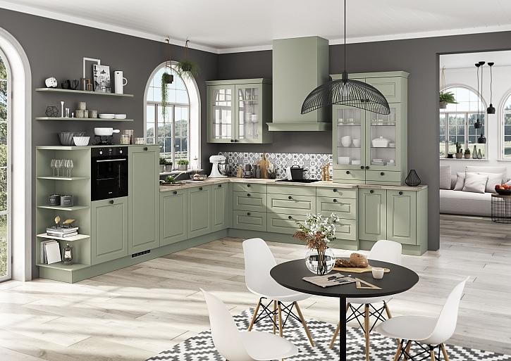 Troufnete si na modrou a zelenou kuchyň? (Zdroj: Oresi)