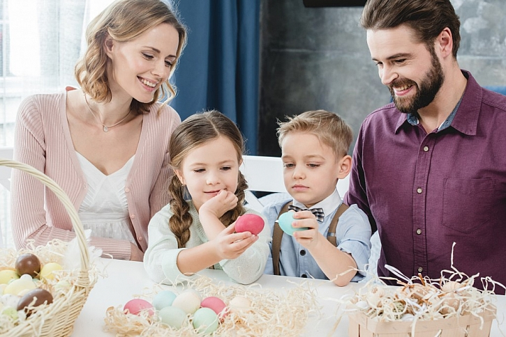 Velikonoční pondělí je hlavně pro děti