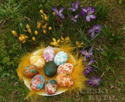 Velikonoční barvení ještě trochu jinak