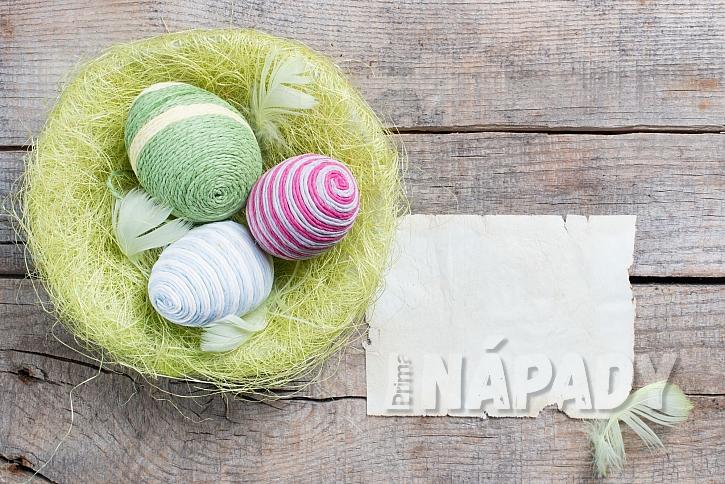 Ozdobená velikonoční vajíčka