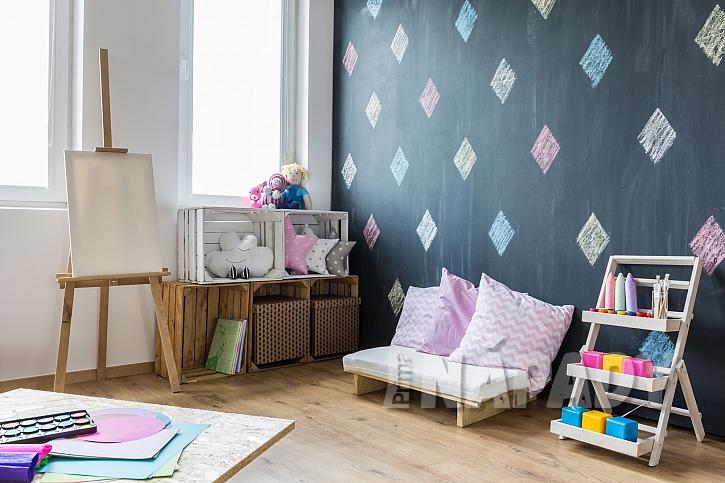 Dětský pokoj v moderním stylu-1
