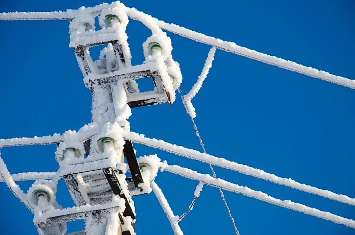 Nízké teploty způsobují křehnutí kabelů
