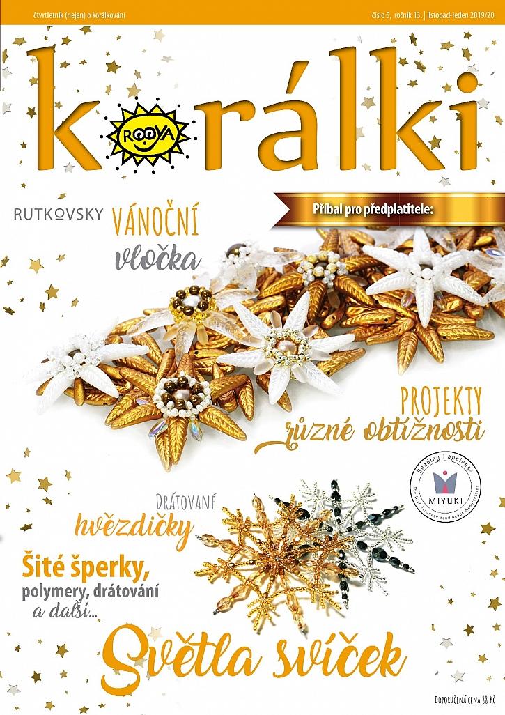 Časopis Korálki vychází s novým společným tématem, a tím jsou Vánoce - světlo svíček (Zdroj: Korálki)