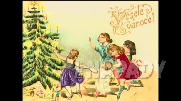 Vánoční pohlednice a jejich historie