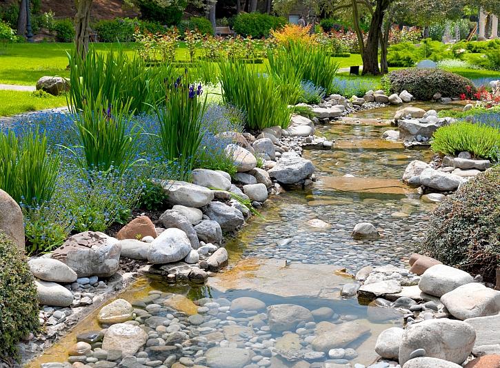 Úprava vody v bazénu a zahradním jezírku na jaře (Zdroj: Depositphotos)