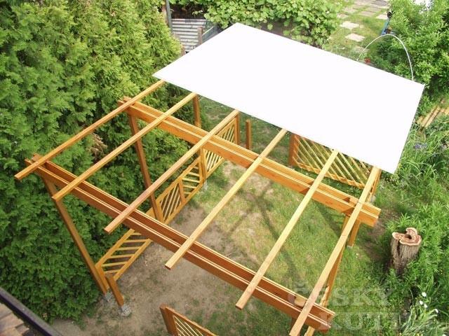 Stavba pergoly – 2. díl