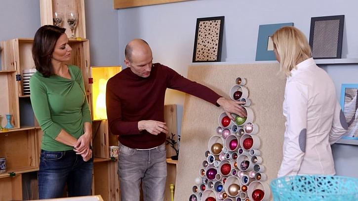 Originální vánoční stromečky na zeď představí Gondíci s. r. o.