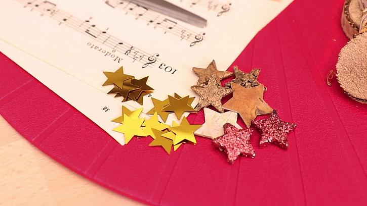 Lesklé hvězdičky