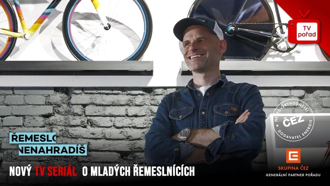 Upoutávka na nový seriál Řemeslo nenahradíš o mladých řemeslnících. Premiéra 11. dílu na TV Prima 13. 7. 2020