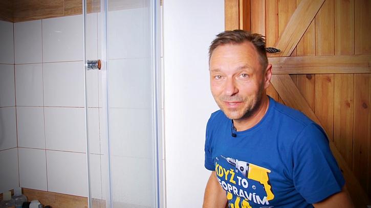Pepa Libický při práci