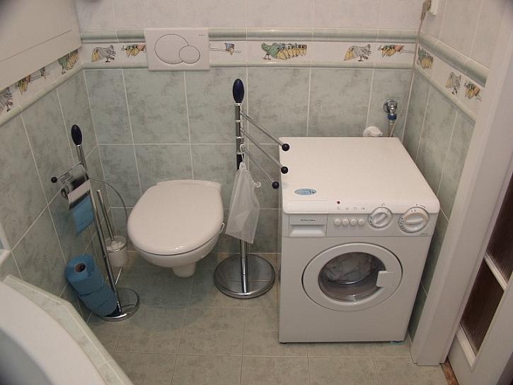 WC s podomítkovou nádržkou