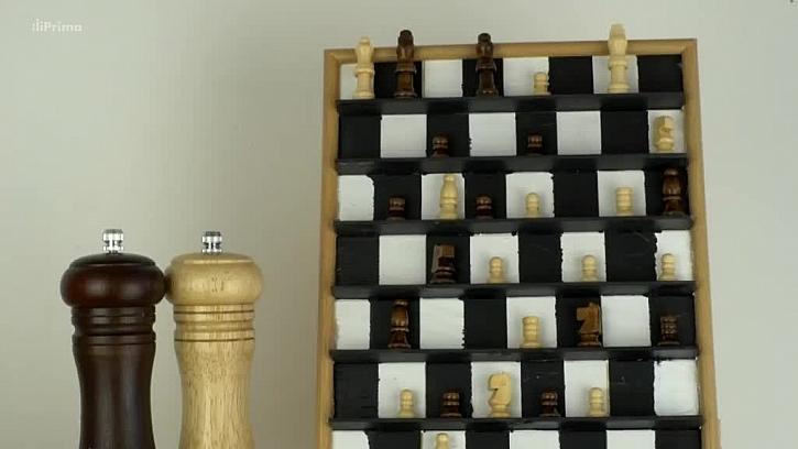 Jak vyrobit obraz z šachů