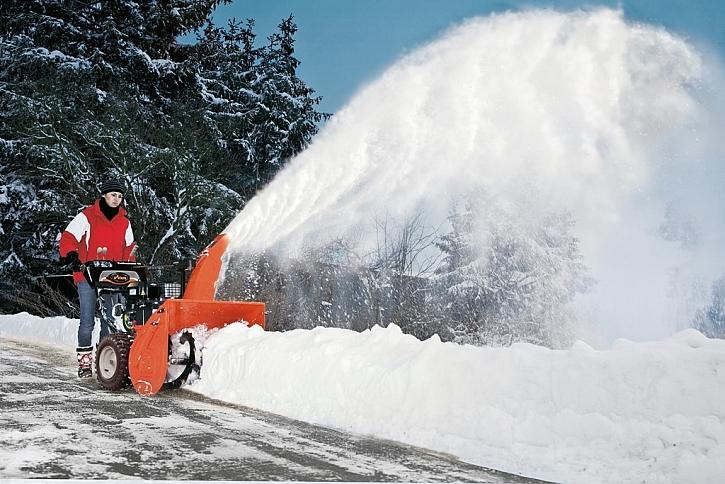 Sněhové frézy pro precizní úklid sněhu