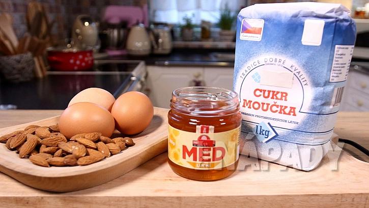 Recept na pravý turecký med: suroviny
