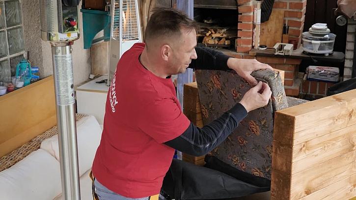Renovace retro křesla za pár korun