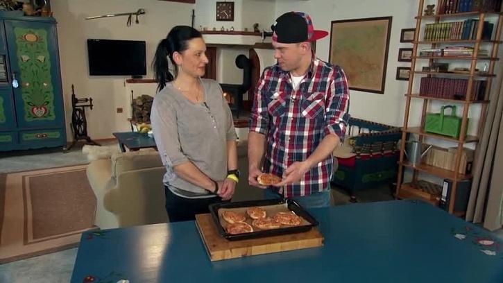 Hotové pizza housky