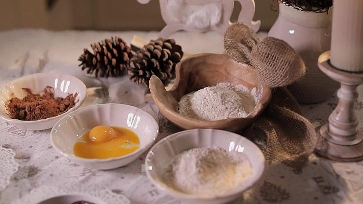 Suroviny na sušenky