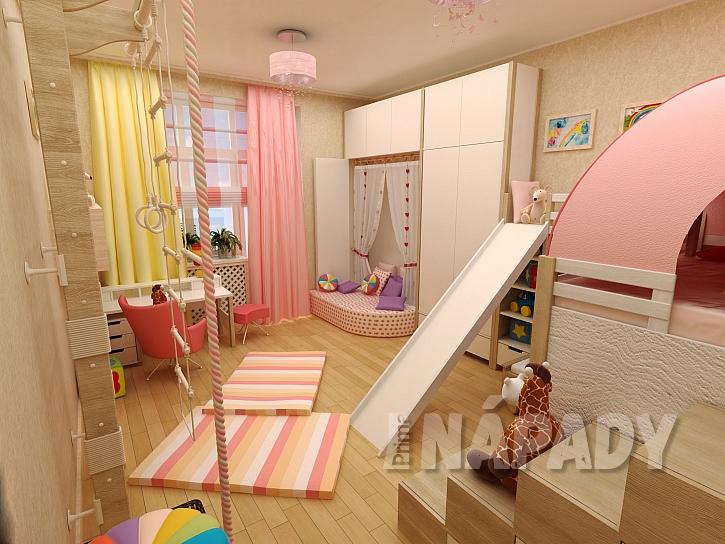 dětský pokoj pro živé dítě