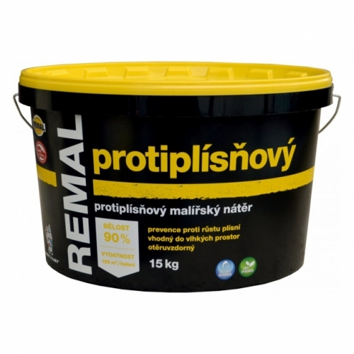 Remal Protiplísňový malířská barva 15 kg