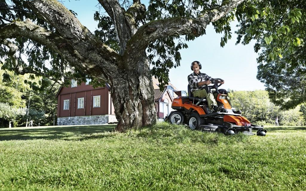 Celoroční využití rideru a traktoru