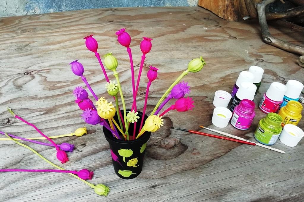 Letní dekorace z makovic: Vydejte se pro materiál do přírody