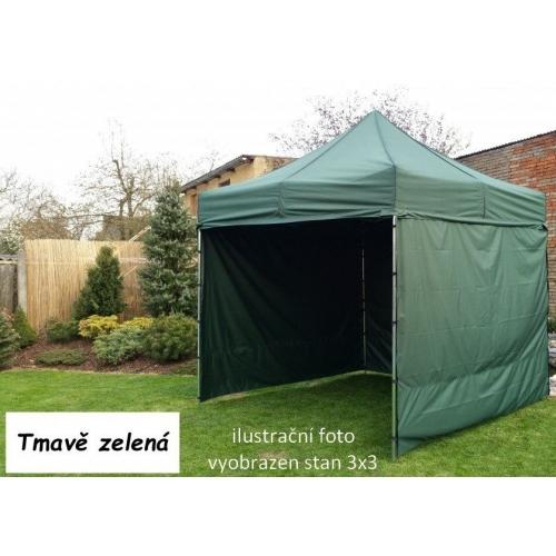 Tradgard PROFI STEEL 57118 Zahradní párty stan 3 x 6 - tmavě zelená