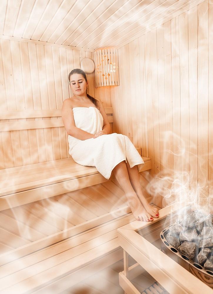 Pára v sauně