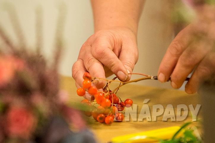 Podzimní kytice aneb Čas vřesů, jiřinek, chryzantém i aster 3
