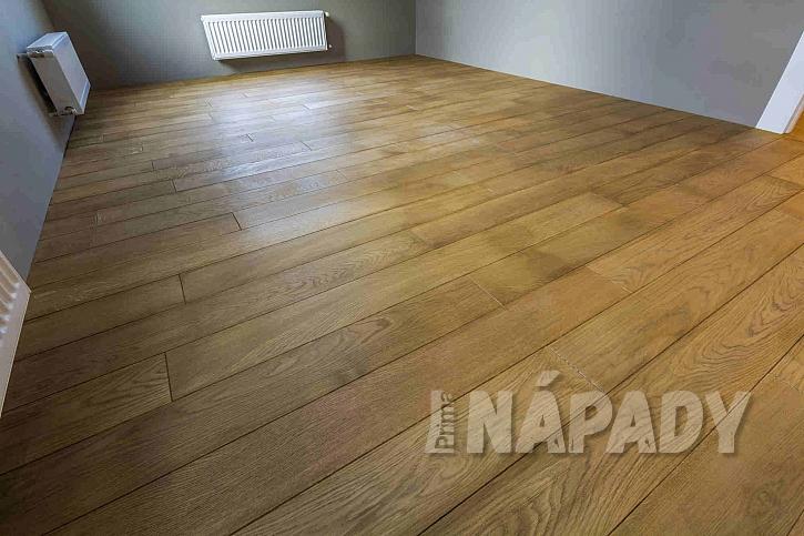 Nově zrekonstruovaná podlaha