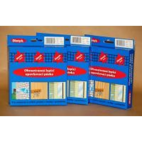 DISTYK P-profil těsnění do oken a dveří 9 mm x 5,5 mm x 6 m, bílá