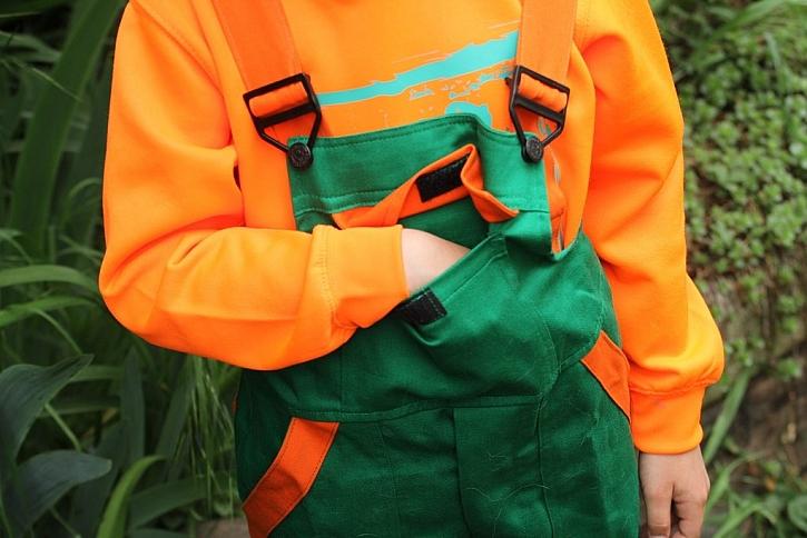 Kapsy i na dětském oblečení