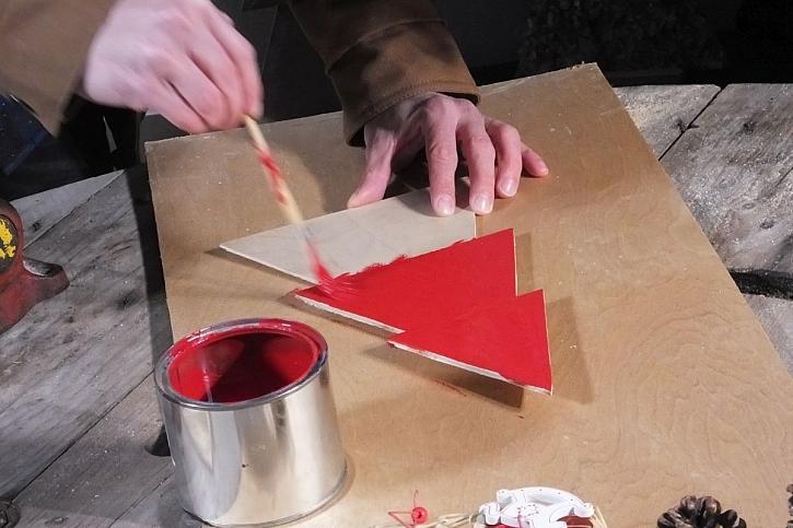 natírání překližky