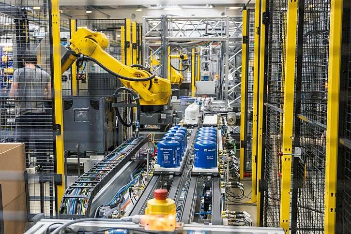 Výrobní linka pro Knorr-Bremse