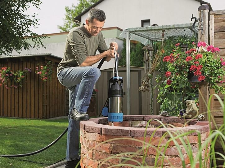 Ponorná čerpadla – neocenitelný pomocník na zahradě (Zdroj: Hornbach)