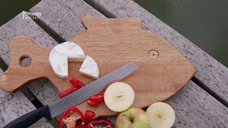 Návod na výrobu kuchyňského prkénka ve tvaru ryby (Zdroj: Kuchyňské prkénko ve tvaru ryby)