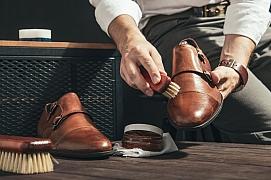 Udělejte z péče o koženou obuv malý relaxační rituál