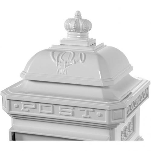 Tuin 27740 Poštovní schránka starožitná antik - bílá