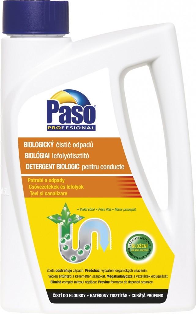Čistič odpadů PASO: toreador v odpadu