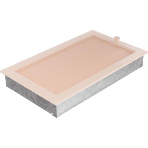 Krbová mřížka 22x37 BASIC krémová s žaluzií