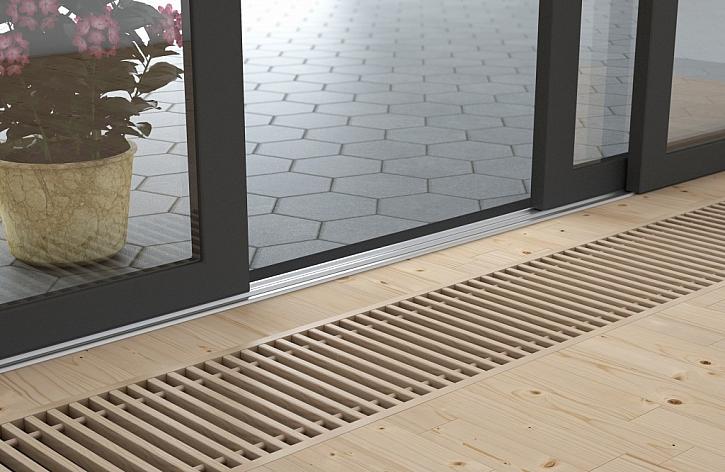 Podlahový konvektor Koraflex