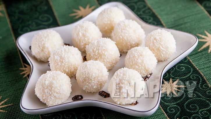 Lanýžové pralinky z ricotty