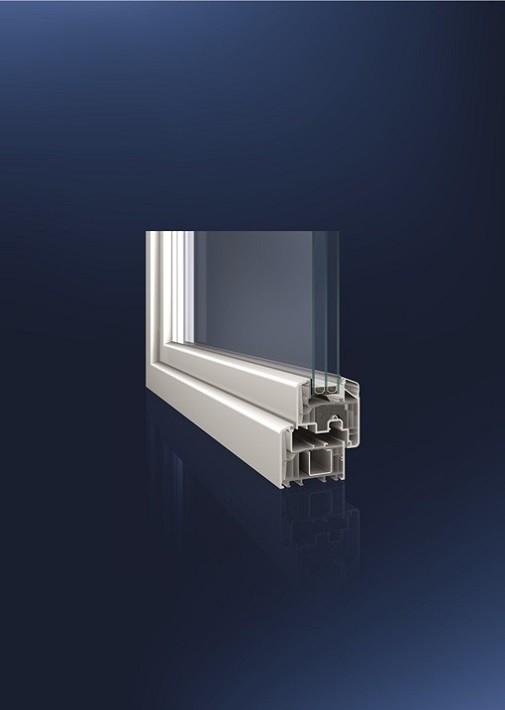 EcoPowerCore – okna z recyklovaného PVC