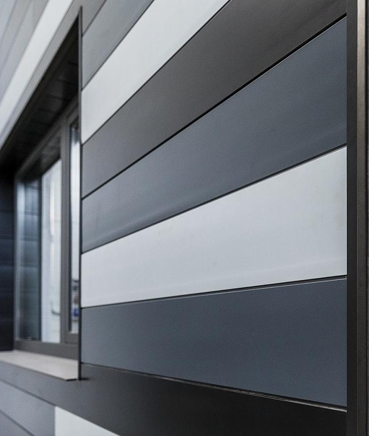 Designově dokonalá fasáda s hliníkovými obklady Premium