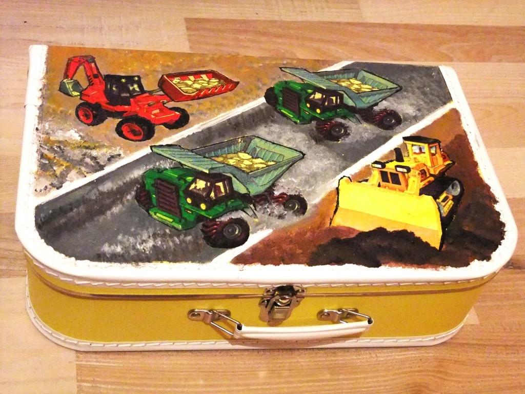 Školní kufřík s originálním motivem a pokaždé jinak