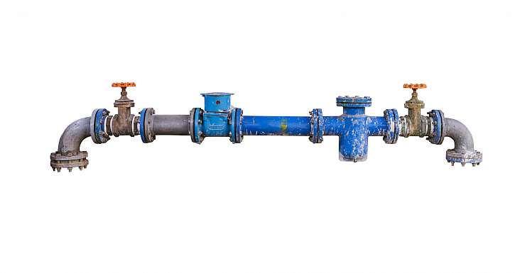 Připojení vody na vodovodní řad