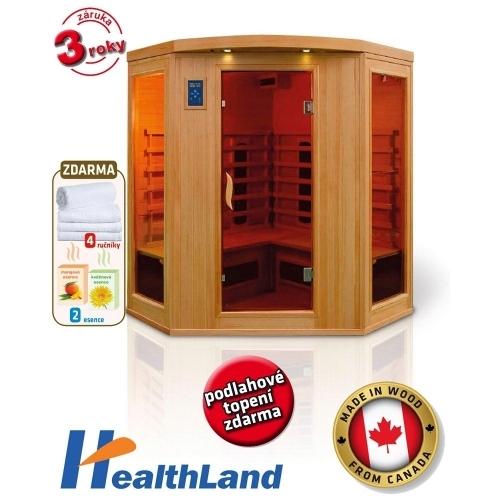 HEALTHLAND Infrasauna DeLuxe 4440 CB/CR