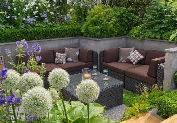 Zahrada jako obývací prostor
